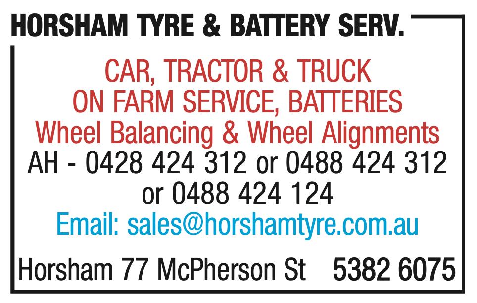 Horsham Tyre Ad 2