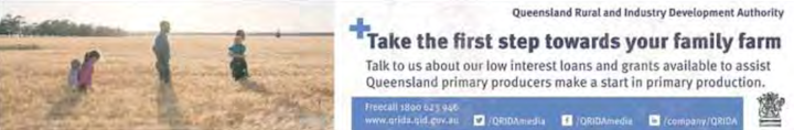 QLD Rural and industry Dev Authority - Banner Image