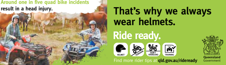 Ride ready Queensland Banner Image